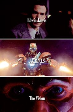 The evolution...Jarvis to Vision