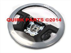 2007-2008 Chevy Avalanche/Tahoe/etc Ebony Leather Wrapped Steering Wheel OEM NEW #Chevrolet