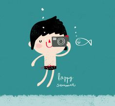 Maria Maldonado #summer #illustration #cute