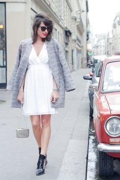 Fashion is a Playground: Little white dress