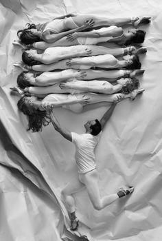 JR, NYC Ballet Art Series, Paper Interactions #3, 2014