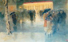 霧のロンドン 牧野義雄