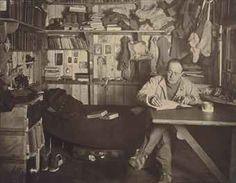HERBERT GEORGE PONTING (1871-1935) CAPTAIN SCOTT WRITING UP HIS JOURNAL, SCOTT'S LAST EXPEDITION (11 OCTOBER 1911)
