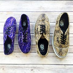 Why wear boring shoes when sneakers like this exist in the world?! Add some interest to your outfit with these killer #Vans! | www.platosclosetbarrhaven.com