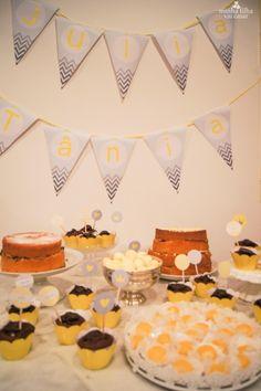 aniversario chevron cinza amarelo blog minhafilhavaicasar 1