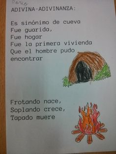 ¡Nos encantan las adivinanzas! Spanish Worksheets, Primary School, Reading Comprehension, Preschool Activities, Inventions, How To Plan, Ideas Para, Primitives, Children Books