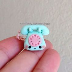 Imagen de blue, kawaii, and polymer clay