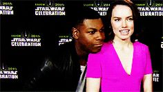 John has his head on Daisy's shoulder and then he does an impression of her expression! THESE PRECIOUS PEANUTS!!!