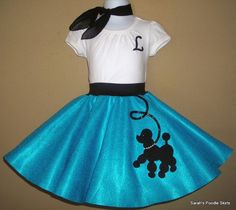 poodle skirt for lexis rockin 9th bday @ corvette diner!and dbls for halloween since her bday is october ;)
