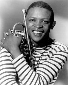 Hugh Masekela in New York in the mid-1960s.