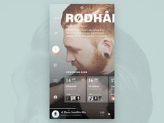 Events app - artist & home animation ui ios kohut piotr navigation menu list mobile fluent music schedule artist Web Design, App Ui Design, Graphic Design, Html Css, Apps, Card Ui, Mobile Ui Design, Application Design, Mobile Application