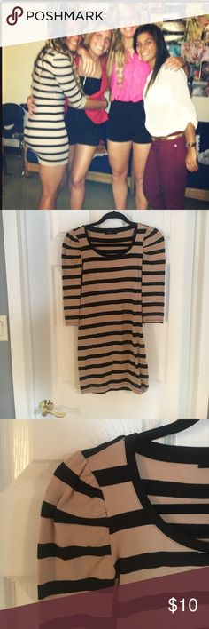 Forever 21 fitted dress Fitted mini dress from forever 21 stain free Forever 21 Dresses Long Sleeve