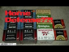 we take the 20 gauge shotgun and put it through a standard home defense scenario and test for overpenetration and damage and compare that to a high powered r. Home Defense, Survival Prepping, Winchester, Sport, Guns, Youtube, Shotgun, Apocalypse, Food