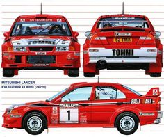 Mitsubishi Lancer Evolution VI - World Rally Car 1999