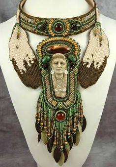 Incredible Native American Beadwork. This looks like Heidi Kummli's work, beautiful. Source?