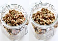 Vanilla Bean Raw Granola
