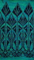 art deco teasel knitting design