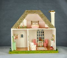 The pinner has tons of dollhouses to review even if you don't craft one, it's fun to look over them (L Meza's Dollhouses)