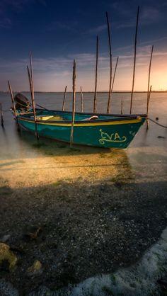 Eva's Boat @ Villeneuve Lès Maguelone Photo By: Benjamin MOUROT Source Flickr.com
