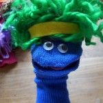 No sew - Easy Sock Puppet