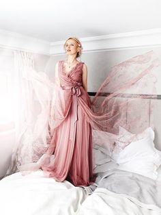 Schnittmuster: Wickelkleid - bodenlang - Maxi-Kleider - Kleider - Damen - burda style