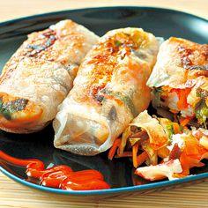 Keleti batyuk Recept képpel - Mindmegette.hu - Receptek Hungarian Recipes, Hungarian Food, Wok, Fresh Rolls, Meat Recipes, Poultry, Sushi, Paleo, Good Food