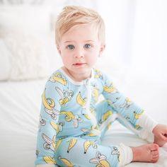 6378399094 Banana Baby   Toddler Bamboo Zip Romper Sleeper - Little Sleepies Toddler  Fashion