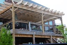 If You Build It, Add A Pergola To A Deck... - The Polkadot Chair