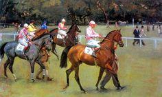 Sir Alfred Munnings http://theapprenticejockey.blogspot.com/2011_08_01_archive.html
