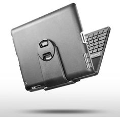 Hot new released for New Trent NT38B/IMP38B Airbender ClamShell iPad Keyboard Case with Matte Finish, Compatible with iPad 4, iPad 3, iPad 2, 3G and WIFI Model, 360 Degree Rotatable Keyboard Cover with Multi-Adjustable Angles and Removable Stand