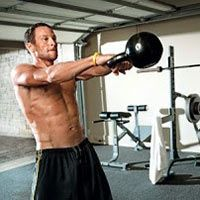 Kettlebell ab exercises six pack // abs // fat loss // toned stomach // strong core // workout