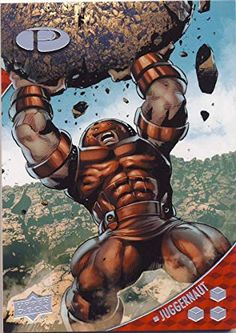 Comic Villains, Marvel Characters, Fictional Characters, Comic Books Art, Comic Art, Juggernaut Marvel, Marvel Universe, X Men, Hulk