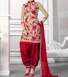 Ready To Wear Patiala Suits 2016 (4)