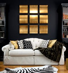 Black And Gold Wall Art build on love stone canvas artoliver gal gallery on @hautelook