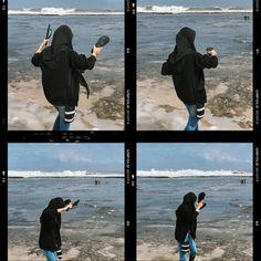 Hijab Fashion, Girl Fashion, Fashion Outfits, Hijab Makeup, Casual Hijab Outfit, Bogor, Journal Inspiration, Wallpaper Backgrounds, Candid