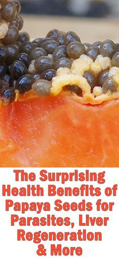 While most people throw them away, papaya seeds are not only edible, small amounts of them in your diet can be surprisingly good for you. Here's why http://superfoodprofiles.com/health-benefits-papaya-seeds