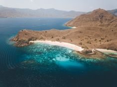 Pink Beach Komodo Island is a pink sand beach that's a serious contender for one of the most beautiful beaches in the world. Komodo National Park, National Parks, Komodo Island, Pink Sand Beach, Hiking Guide, Epic Photos, Beaches In The World, Most Beautiful Beaches, Lombok
