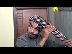 How to tie Parna | Parna Tutorial | Learn Best Turban Style Parna - YouTube