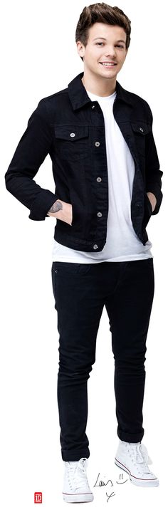 One Direction Louis - 1D Cardboard Stand-Up