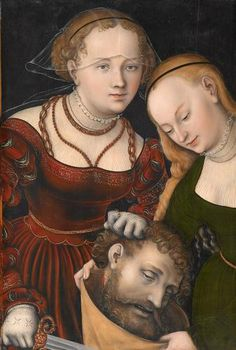 Judith with the head of Holofernes Artist: Lucas Cranach the Elder Completion Date: c.1537