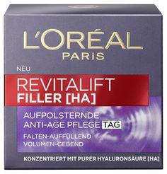 Mit dem gofeminin TestLabor L'Oréal Paris L'ORÉAL PARiS REVITALIFT FILLER [HA] testen und Dein Feedback geben (pinterest)