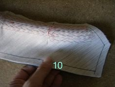 Pad stitching lapels and collars: a tutorial from Paco Peralta | Coat Sew Along