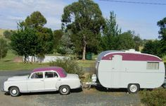 1958 Australian homebuilt vintage Caravan, built by a Melbourne shopfitter for his own use.