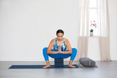 Keep your knees safe with these simple modifications to common yoga poses.
