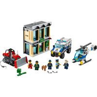 LEGO City Bulldozer Break-In: Have lots of construction fun with the LEGO City Bulldozer Break-in! Call in the high security team, the…