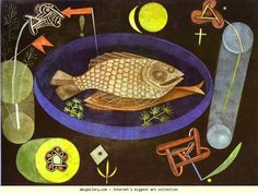 Paul Klee. Around the Fish.