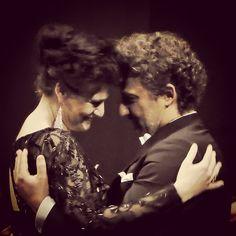 Power couple #JonasKaufmann #AnjaHarteros @theatre_champs_elysees #AndreaChenier #Giordano #opera #verismo #aboutlastnight @lucabaritono @bayerischestaatsoper