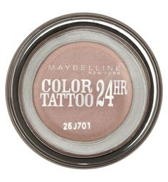 Maybelline EyeStudio Color Tattoo 24hr eyeshadow - creamy beige, eternal gold, bad to the bronze