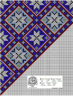 Perlesøm på stramei, bunad. – Vevstua Bull-Sveen Loom Beading, Beading Patterns, Pixel Art, Bead Crochet Rope, Chart Design, Bead Jewellery, Cross Stitch Patterns, Blue And White, Embroidery