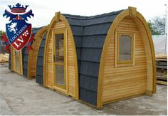 Wooden Camping Pod
